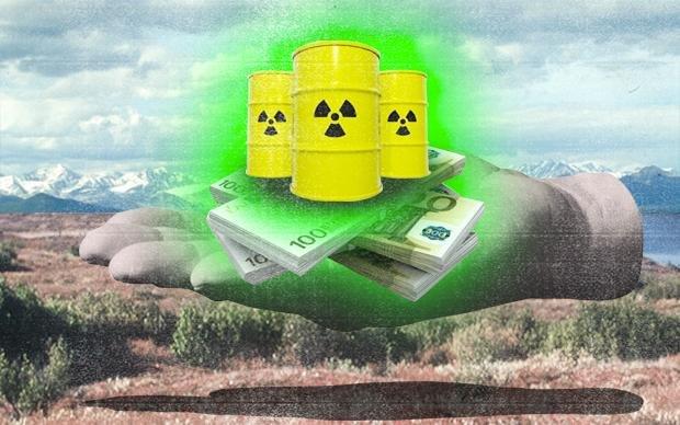Schön weit weg mit dem Zeug: Immer mal wieder gab es für den deutschen Atommüll Reisepläne nach Sibirien (Falko Ohlmer)