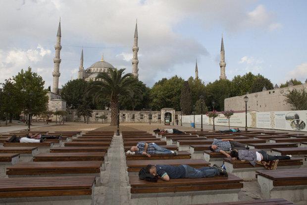 Tatsache: In der Türkei schlafen die Menschen am besten, allen sozialen Konflikten um Gezi und Co. zum Trotz (Foto: picture-alliance/dpa)