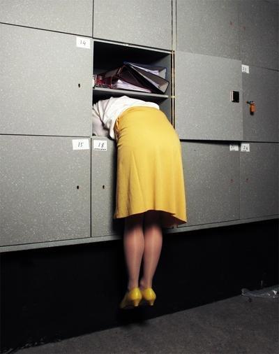 Bei einer Behörde eine Auskunft zu bekommen, kann manchmal ein ganz schöner Staatsakt sein (Foto: Isabelle Wenzel)