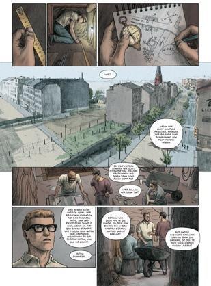 """Nicolas Brachet/Olivier Jouvray: """"Fluchttunnel nach West-Berlin""""; Avant, Berlin 2014, 56 Seiten. 19,95 Euro (Foto: Avant-Verlag)"""