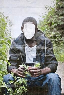 Mussa, 23 Jahre alt, hat in seinem Herkunftsland als Zimmermann gearbeitet (Foto: Rebecca Sampson)