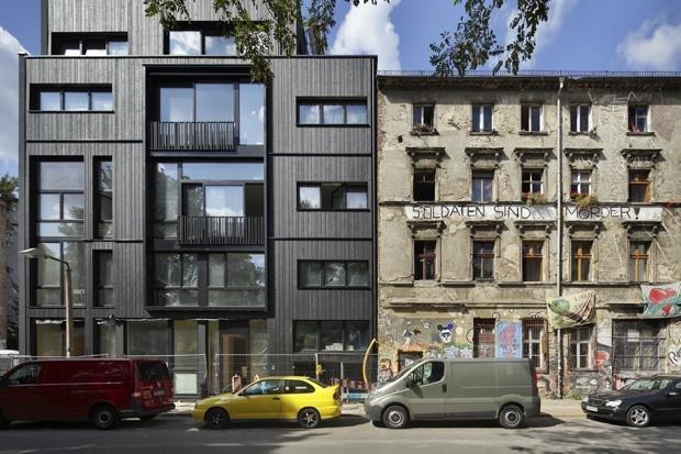 Da müsste es doch noch was dazwischen geben – zum Beispiel Sozialwohnungen  (Foto: Andreas Muhs/OSTKREUZ)