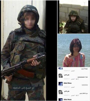 """Schon länger ist es unter weltweit über vier Millionen Exilsyrer üblich, sich in den sozialen Netzwerken zu warnen, etwa, indem man Fotos von scheinbar ins Ausland geflüchteten Verbrechern postet. Dass der """"Islamische Staat&ldquo (Foto: Facebook)"""