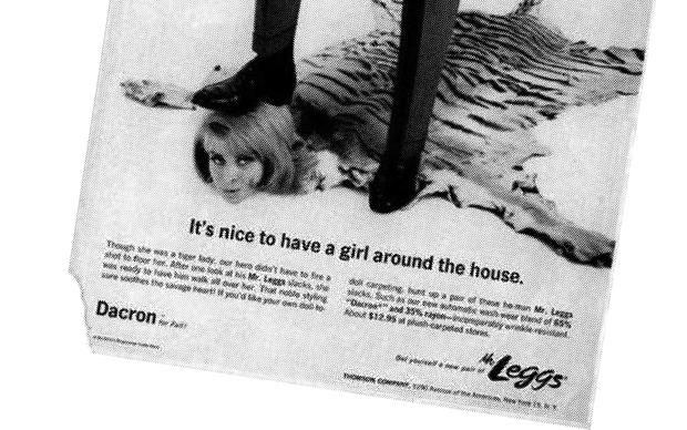 Schon klar, man findet auch heute noch genug Beispiele für sexistische Werbung. Aber diese Annoncen aus alten amerikanischen Magazinen sind einfach zu absurd, um sie Euch vorzuenthalten