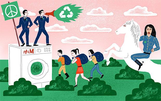 Bringt her Eure Klamotten: Ob Greenwashing oder nicht – H&Ms Kampagne ist umstritten