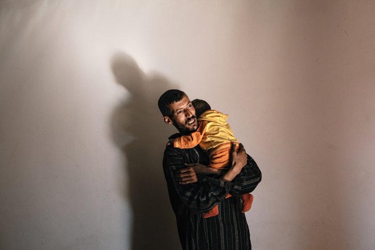 Die meisten Kinder die in den Lagern geboren werden kennen Ihre Heimat nur aus Erzaehlungen