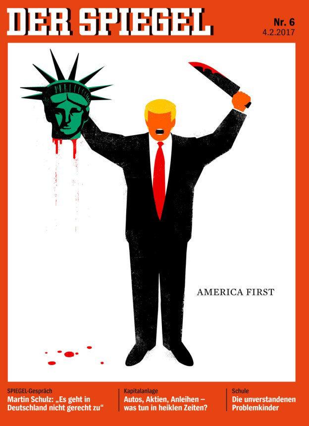 America First Cover Der Spiegel