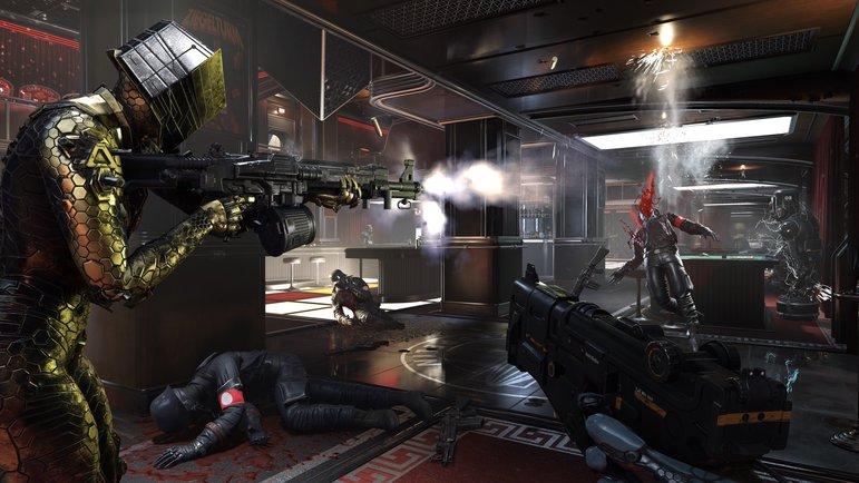"""Szene aus dem Computerspiel """"Wolfenstein: Youngblood"""""""