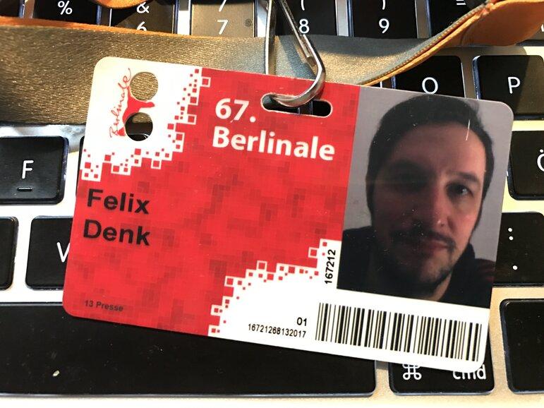 Berlinale-Blogger Felix Denk