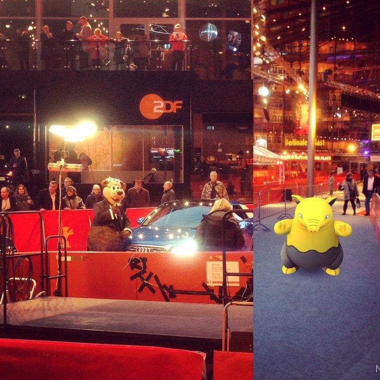 Tiere auf dem roten Teppich bei der 67. Berlinale (Foto: Michael Brake)
