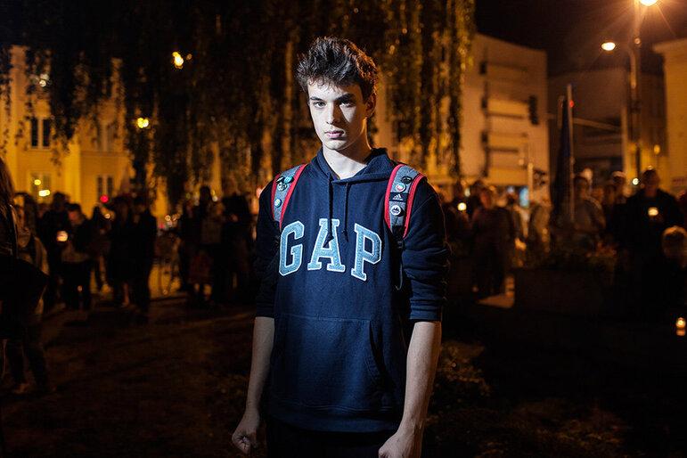 Janusz, 17, Schüler am Gymnasium