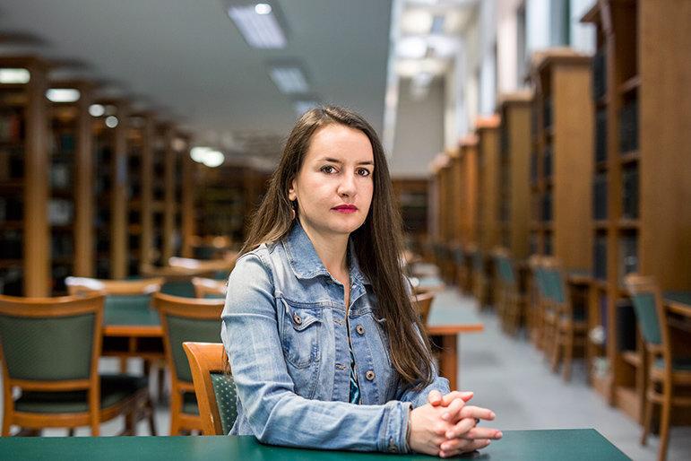 Katalin Lukacsi (Foto: Balint Hirling / n-ost)