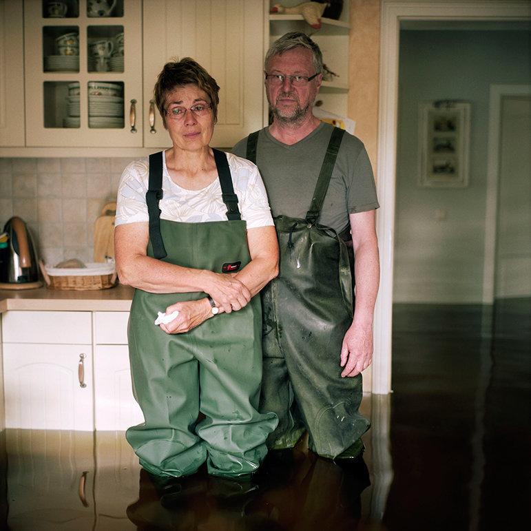 Brigitte und Friedhelm Totz, Elster, Sachsen Anhalt, Deutschland,  Juni 2013