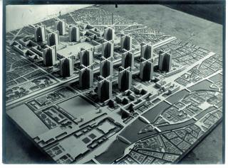 Entwurf für Paris, erdacht von Le Corbusier (Bild: Le Corbusier/FLC/VG Bild-Kunst)