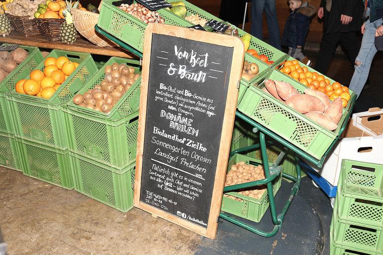 Regionales Gemüse auf dem Markt