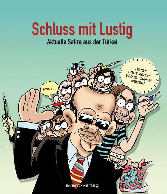 """Cover des Buches """"Schluss mit Lustig"""""""