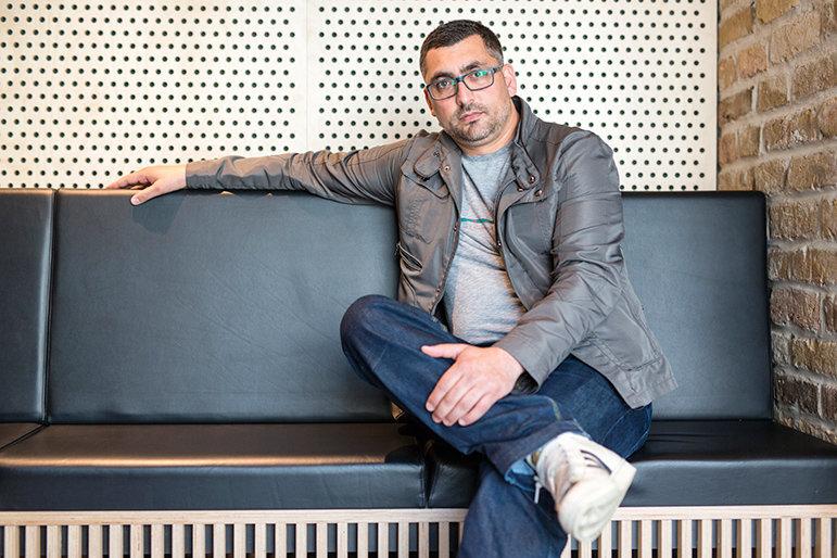 Tibor Rácz (Foto: Balint Hirling / n-ost)