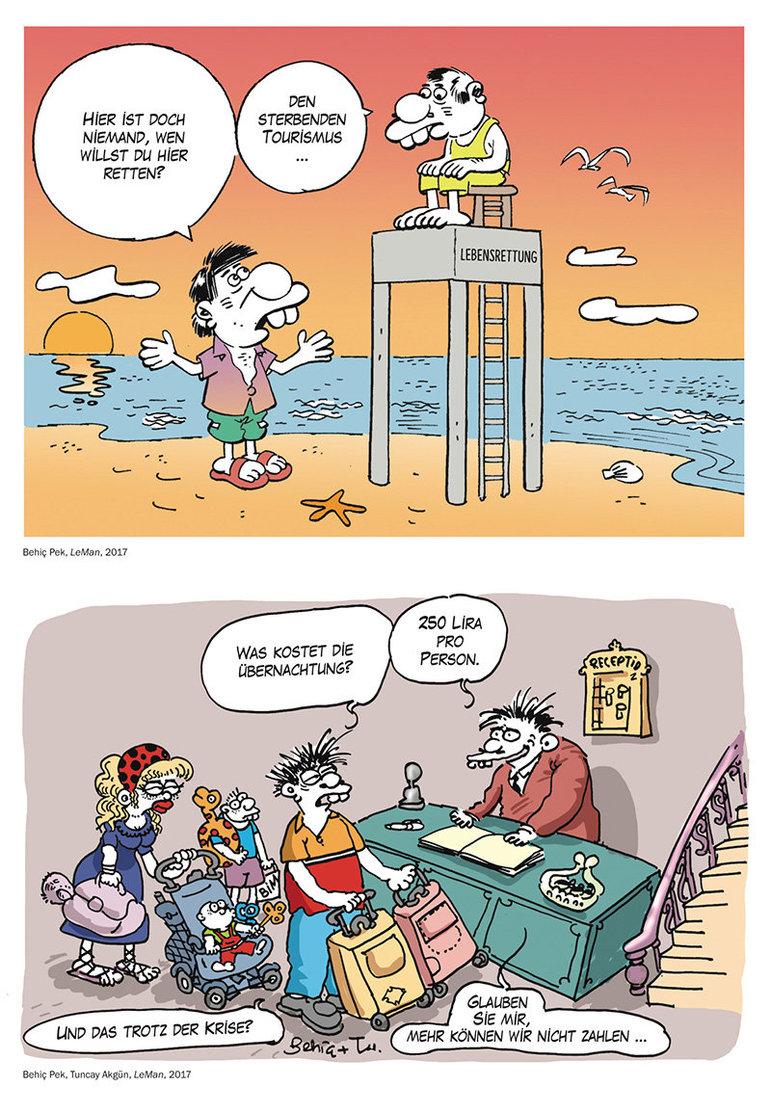 Comic und Satire in der Türkei