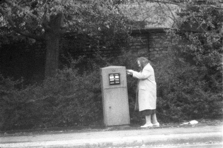 Überwachter Briefkasten