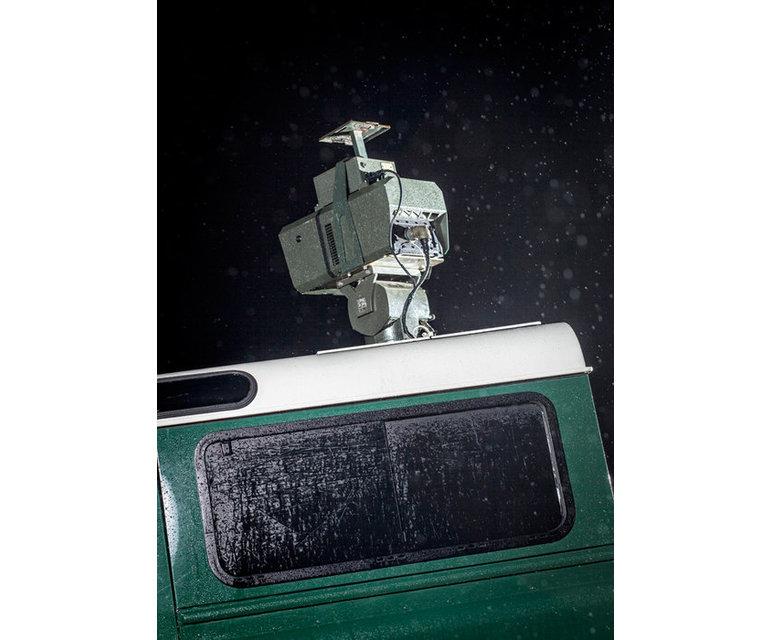 Tragbares Langstrecken-Infrarot-Überwachungssystem – Evros-Region, Januar 2012