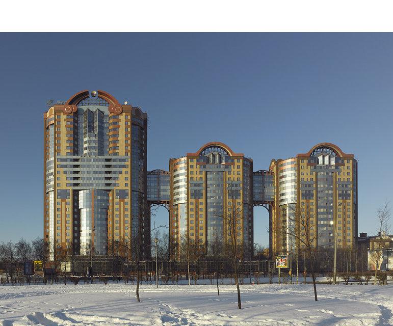 Der Kuntsevo-Wohnkomplex in Moskau