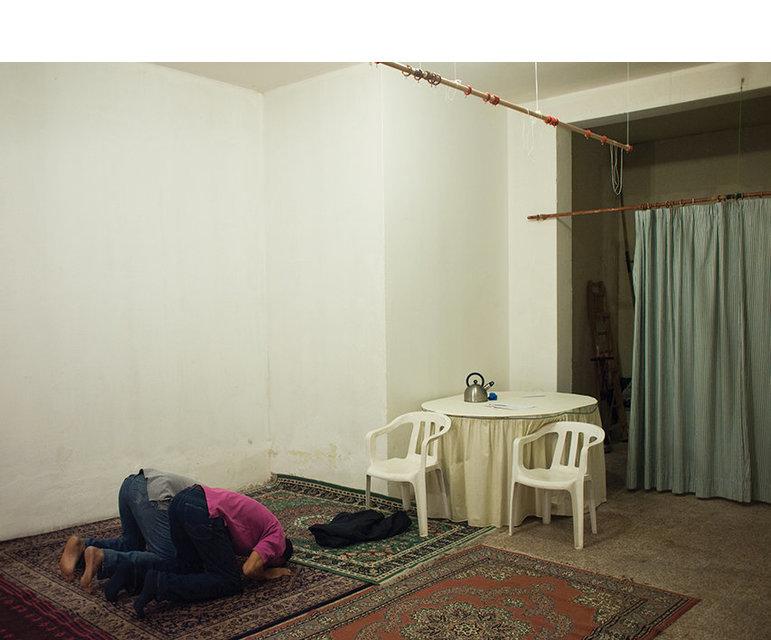 Auch in Trevino sind die Gebetsräume eher schmucklos.