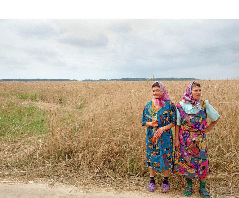 Viele Frauen leben im Heim der Männer, um auf dem dazugehörigen Bauernhof zu helfen