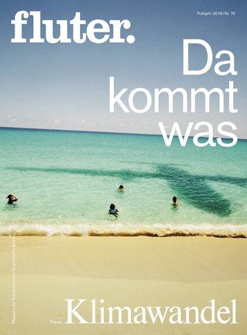 Cover des Fluter-Magazins zum Thema Klimawandel