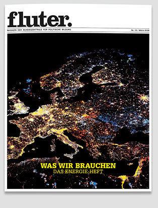 Fluter Heft Nr.19 - Energie Heft-Cover
