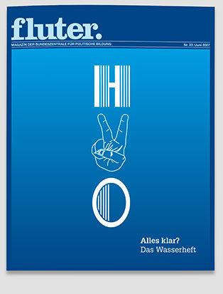 Fluter Heft Nr. 23 - Wasser Heft-Cover