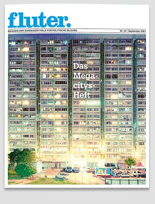 Fluter Heft Nr. 24 - Megacitys Heft-Cover