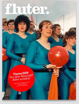 Fluter Heft Nr. 30 - DDR Heft-Cover