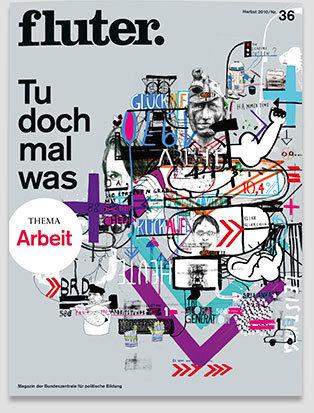 Fluter Heft Nr. 36 - Arbeit Heft-Cover