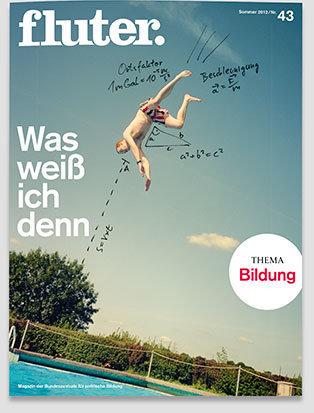 Fluter Heft Nr. 43 - Bildung  Heft-Cover