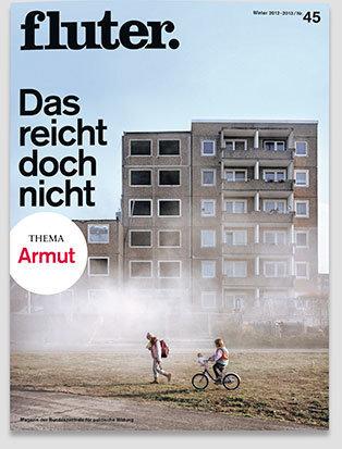 Fluter Heft Nr. 45 - Armut Heft-Cover