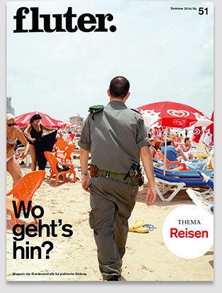 Fluter Heft Nr. 51 - Reisen Heft-Cover