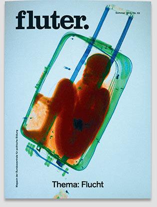 Fluter Heft 55: Flucht - Heft-Cover
