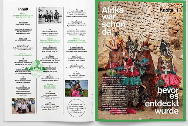 fluter Heft Nr. 59 - Afrika - Inhalt