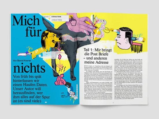 fluter Magazin Nr. 68 zum Thema Daten