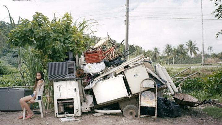 Franciele aus dem Barra de Tijuca in Rio de Janeiro. Es war lange unklar, ob ihre Familie ihr Haus verlassen muss.