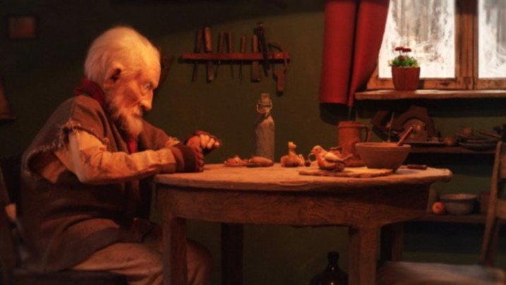 "Szenenbild aus dem Trickfilm ""The old man and the Bird"""