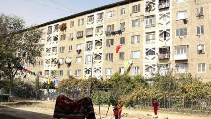 Besseres Kabul: Die sowjetischen Plattenbauten gelten heute als bevorzugte Wohngegend