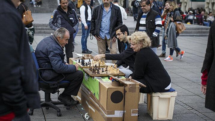 Multikulti & Maultäschle: In Stuttgart wird – auch beim Schach – auf Integration gesetzt