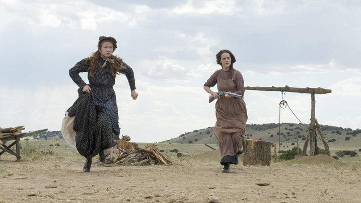 Szene aus der Western-Serie Godless (Netflix)