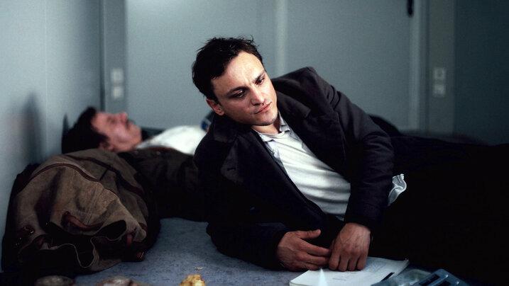 Szene aus dem Berlinale Film Transit mit Franz Rogowski