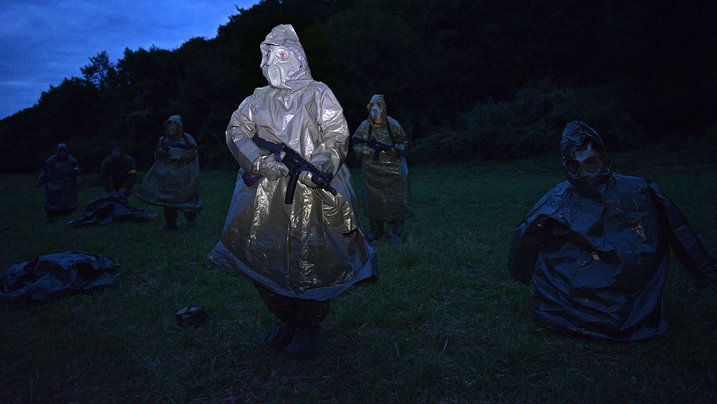 Szene aus dem Film When the War comes