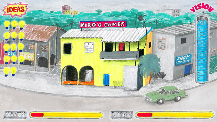 Illustration des Kiroo Games Studio