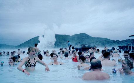 Mach mal Dampf: Hier kommen sich Isländer in einem heißen Naturpool näher