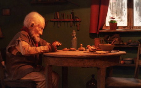 "Szenenbild aus dem Trickfilm ""The old man and the Bird"""