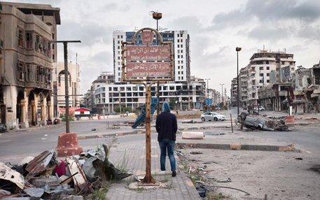 Homs im Zentrum Syriens hat der Bürgerkrieg hart getroffen. Große Teile der Stadt sind zerstört